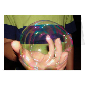 ISEE:BUBBLE GREETING CARDS