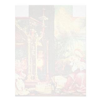 Isenheim Altarpiece Formerly The Main Altarpiece O Letterhead Design