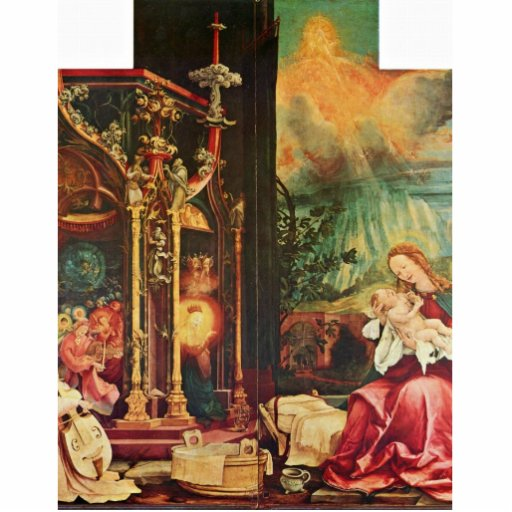 Isenheim Altarpiece Formerly The Main Altarpiece O Photo Cut Outs
