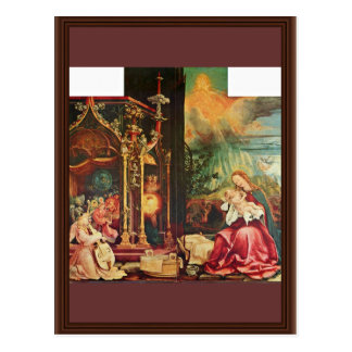 Isenheim Altarpiece Formerly The Main Altarpiece O Postcard