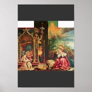 Isenheim Altarpiece Formerly The Main Altarpiece O Print