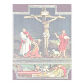 Isenheim Former Altar Altar In The Antonine Isenhe Custom Letterhead
