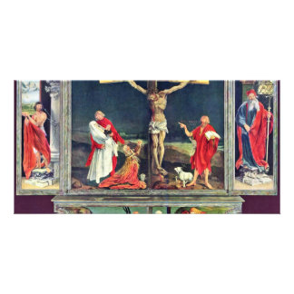 Isenheim Former Altar Altar In The Antonine Isenhe Photo Card Template