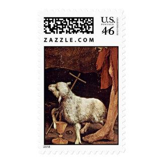 Isenheim Former Altar Altar In The Antonine Isenhe Postage Stamp