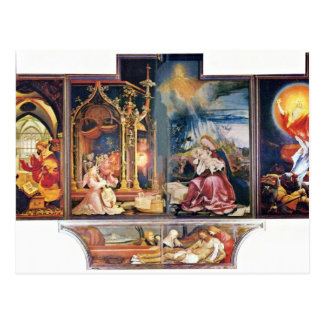 Isenheim Former Altar Altar In The Antonine Isenhe Postcards