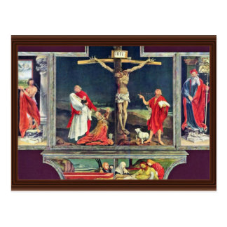 Isenheim Former Altar Altar In The Antonine Isenhe Postcard