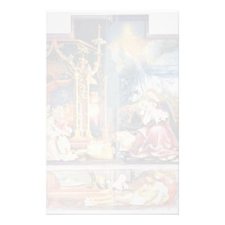 Isenheim Former Altar Altar In The Antonine Isenhe Personalized Stationery