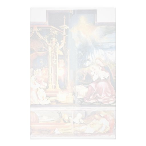 Isenheim Former Altar Altar In The Antonine Isenhe Personalized Stationery