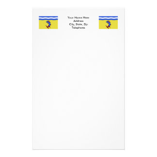 Isère flag stationery