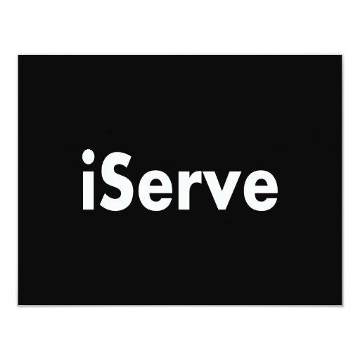 iServe Announcement
