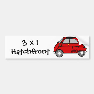 Isetta 3x1 bumper sticker