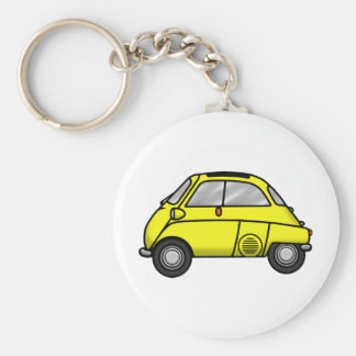 isetta ab plus yellow keychain