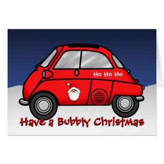 isetta Christmas Stationery Note Card