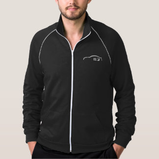 ISF white brushstroke logo Jacket