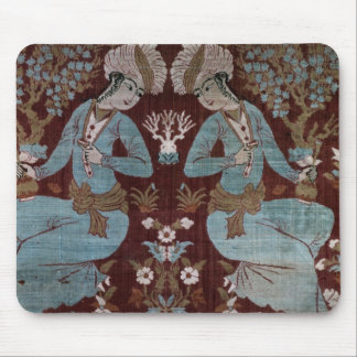 Isfahan style panel, Persian, 17th century (silk) Mouse Pad