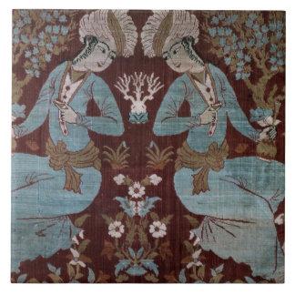 Isfahan style panel, Persian, 17th century (silk) Ceramic Tiles
