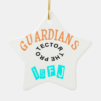ISFJ Guardian Personality Ceramic Ornament