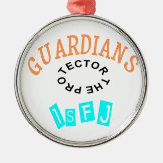 ISFJ Guardian Personality Metal Ornament
