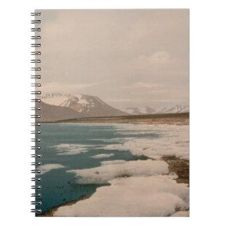 Isfjorden, Svalbard, Norway Notebook