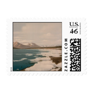 Isfjorden, Svalbard, Norway Postage Stamp