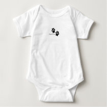 ISFP Baby Jersey One-piece Shirt
