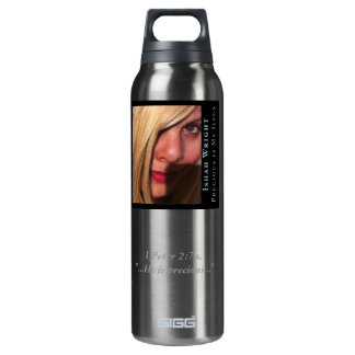 Ishah Precious Is My Jesus Scripture Bottle 16 Oz Insulated SIGG Thermos Water Bottle