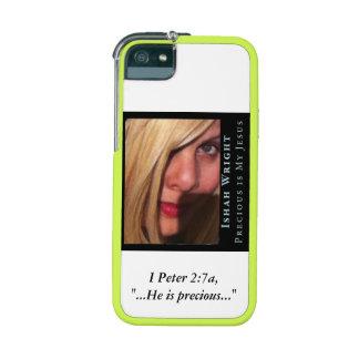 Ishah Precious Is My Jesus Scripture iPhone 5 Case iPhone 5/5S Cases