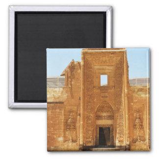 ISHAK PASHA PALACE  Kurdish Palace of Ottoman era 2 Inch Square Magnet