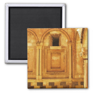 Ishak Pasha Palace PICTURE 2 Inch Square Magnet