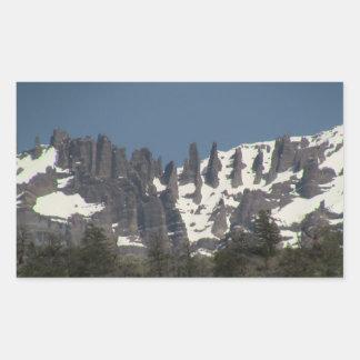 Ishawooa Wyoming Landscape Skyscape Waterscape Rectangular Sticker