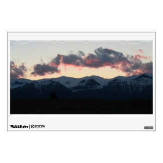 Ishawooa Wyoming Landscape Skyscape Waterscape Wall Sticker