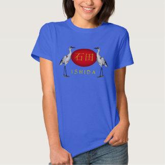 Ishida Monogram Crane T Shirt