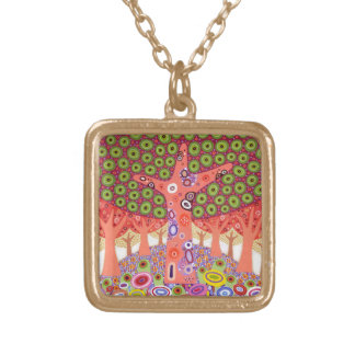 Ishihara Hill 2012 Gold Plated Necklace