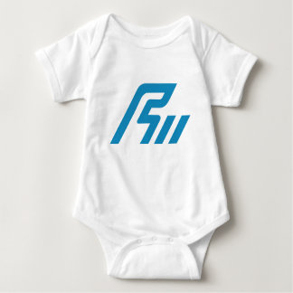Ishikawa symbol baby bodysuit