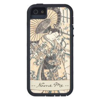 Ishikawa Toyonobu Young Lady with Parasol iPhone SE/5/5s Case