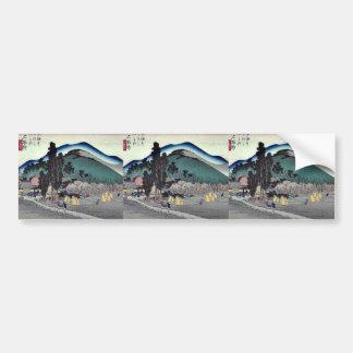 Ishiyakushi por Ando, Hiroshige Pegatina Para Auto