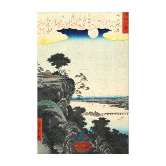 Ishiyama Autumn Moon 1857 Canvas Print