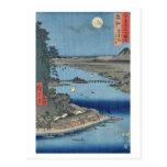 Ishiyama on Biwa Lake Omi Post Card