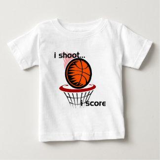 iShoot...iScore Baby T-Shirt