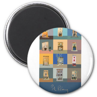 ISHOPS OF ST REMY DE PROVENCE 2 INCH ROUND MAGNET