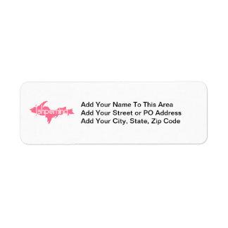 Ishpeming Michigan Upper Peninsula Return Address Label
