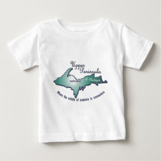 Ishpeming upper peninsula middle of nowhere baby T-Shirt