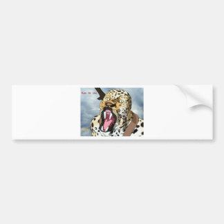 Isi-Agu Growl (Mark of Uru) Bumper Sticker