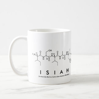Isiah peptide name mug