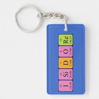 Isidore periodic table name keyring keychain