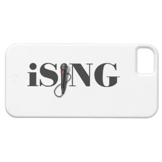 iSING Microphone Performer iPhone 5 Case