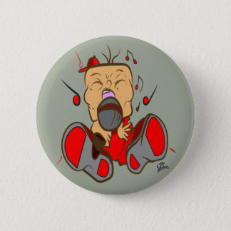 ising red edition for singers, rappers, opera pinback button