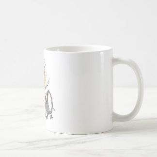 ising white coffee mug