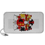 Isiora Family Crest Notebook Speakers