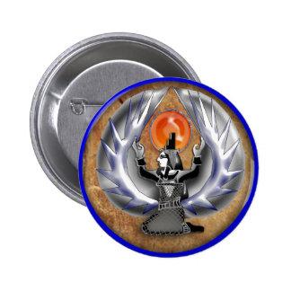 isis 2 inch round button